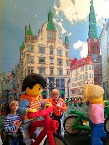 De Lego winkel in Kopenhagen