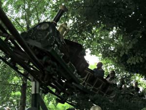 Het treintje Odin Express in Tivoli