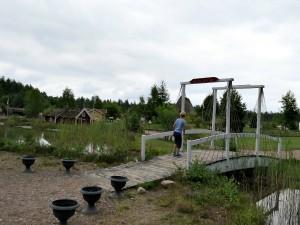 Eindelijk de brug over naar miniatuur Zweden