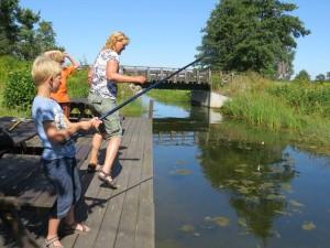 Vissen tussen Hasselö en Sladö