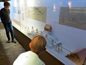 Maquette in het zoutmuseum