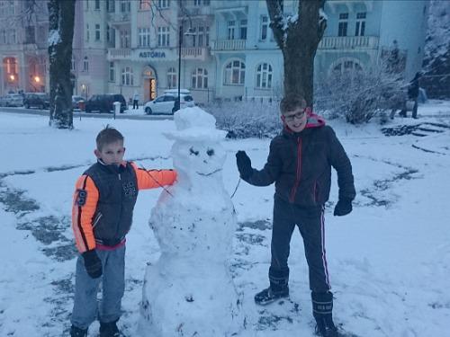 sneeuwpop Jachymov