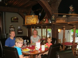Dineren in restaurant Schapendrift in Orvelte