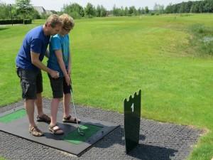 Pitch en Putt golfbaan bij Landal Orveltermarke