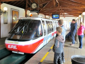 De monorail in Europapark