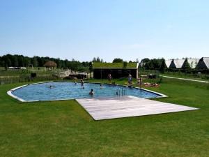 Het prachtige natuurbad van Landal Orveltermarke
