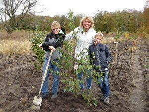 boomplantdag boom voor opa