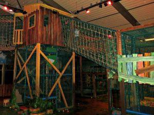 Het indoor speelbos van Landal Coldenhove