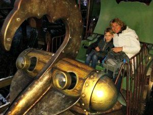 Monorail karretje in Phantasialand