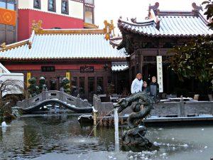 Chinese tuin bij Hotel Ling Bao Phantasialand