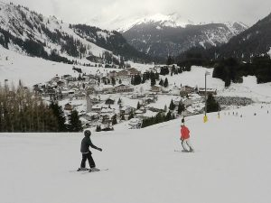 Skiën in Berwang