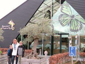 De ingang van Berkenhof Tropical Zoo