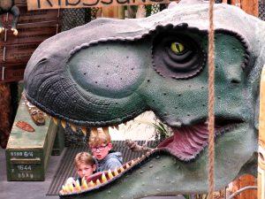 T-rex in de Dino Expo