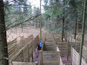 Wow-Park labyrinth