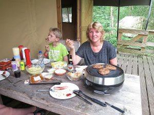 Grillerette Barbeqool bbq voor op tafel