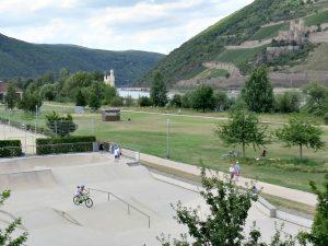 Skatepark bij het Park am Mäuseturm