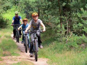 Mountainbiken op de Sallandse Heuvelrug