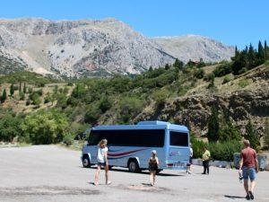 Tussenstop in de bergen van Centraal Griekenland