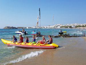 Banaanvaren op Naxos