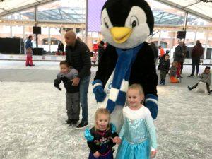 Rico de pinguin bij Cool Event Scheveningen