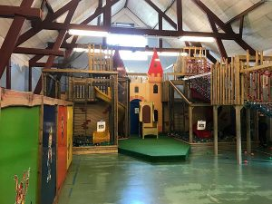 Indoor speeltuin van vakantiepark Klein Vink