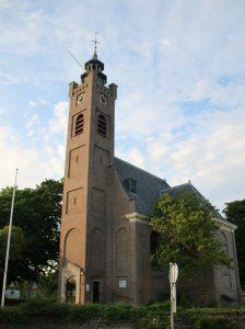 De kerk van Burg Haamstede