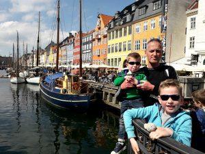 gezellige Nyhavn in Kopenhagen