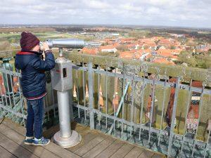 Ribe uitkijktoren verrekijker