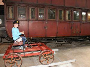 spoorwegmuseum odense handwagen