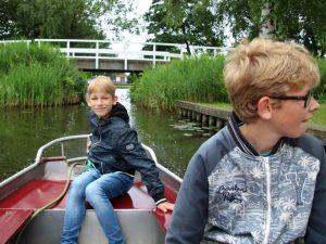 Fluisterbootje varen in Kalenberg