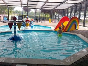 kinderbad camping 't Veld