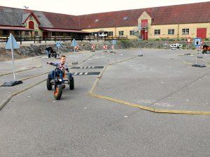 verkeersplein voor kids bij slot egeskov