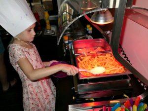 kinderbuffet friet scheppen