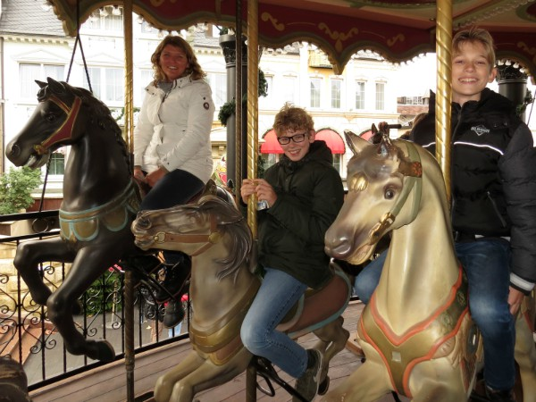 De Paardencarrousel in Phantasialand