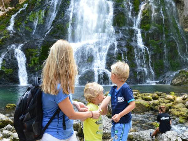 Genieten van de Gollinger watervallen