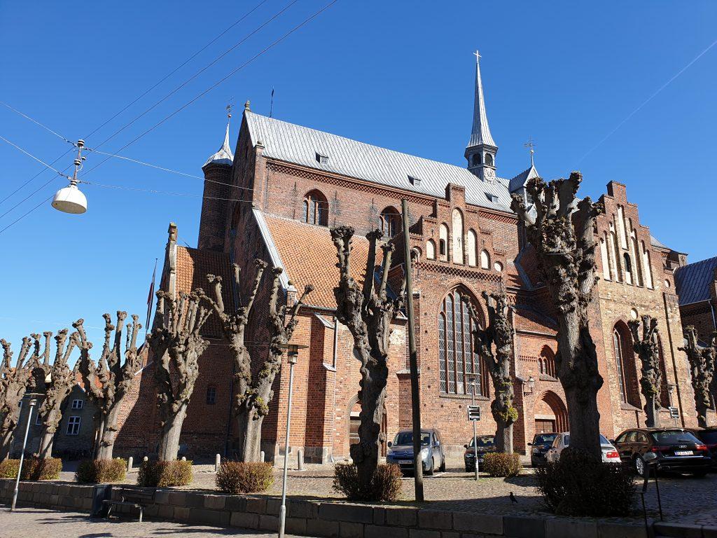 Gotische kathedraal in Haderslev