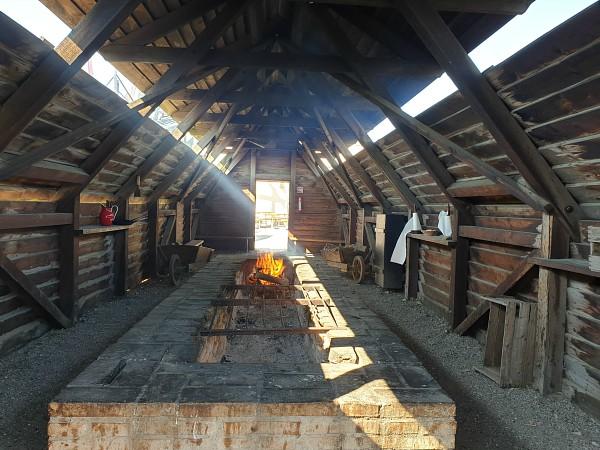 Vuurplaats bij Historisch Centrum Dybbøl Banke