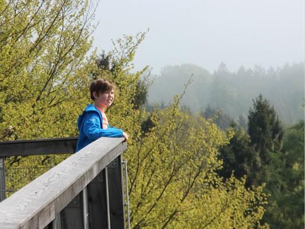 Geweldig uitzicht op de uitkijktoren