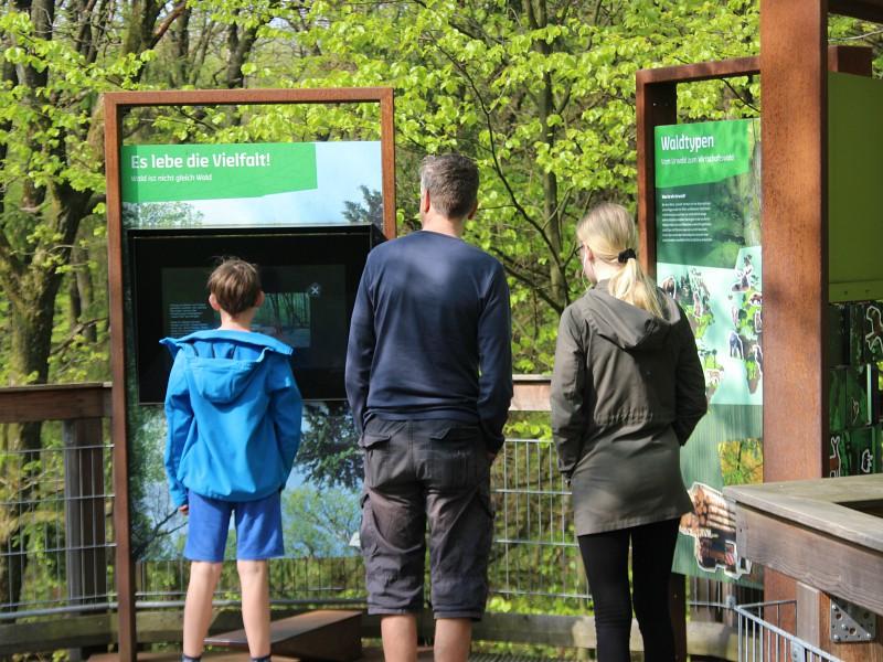 We leren veel over de natuur bij de leereilanden