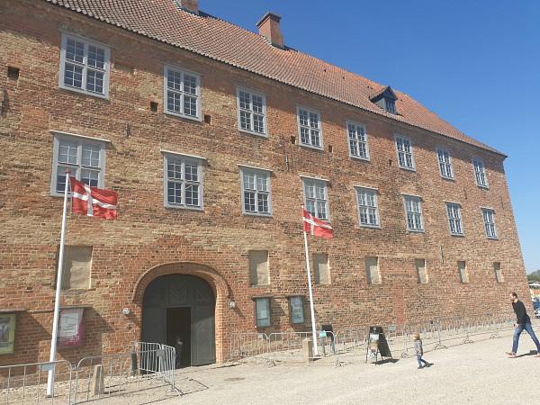 De ingang van Sønderborg Castle