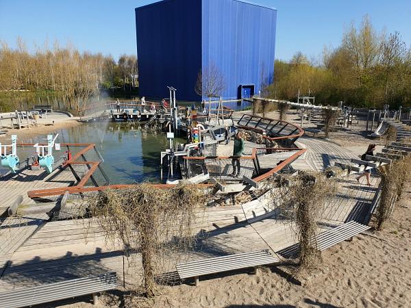 De speeltuin van Universe Science Park