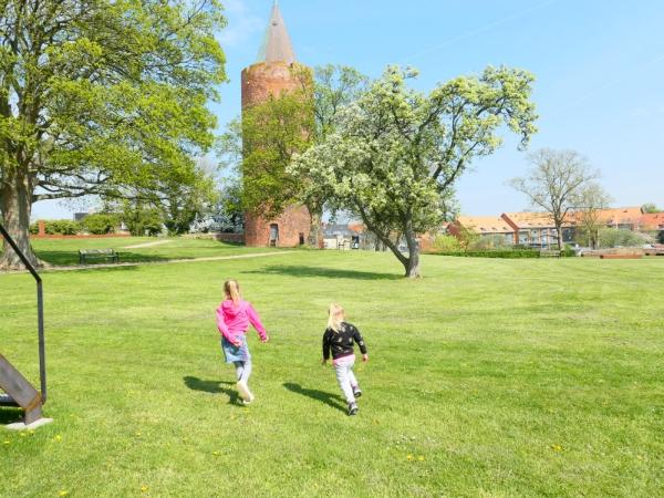 Bij het Danish Castle Centre heb je een mooi uitzicht vanuit deze toren