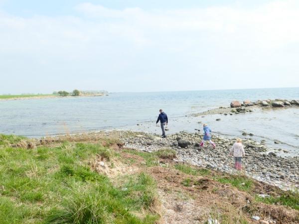 Nysted heeft een mooie kustlijn