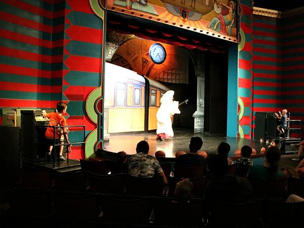 Leuke voorstellingen in het Stoomtheater over de Oriënt Express.