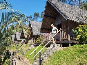 De bungalows bij Feon Ny Ala