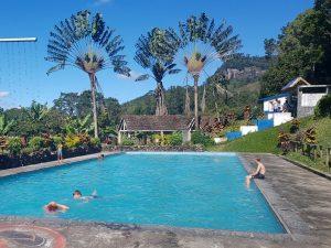 Het prachtige zwembad van Ranomafana